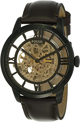 Fossil Men's Stainless Steel Mechanical Automatic Watch