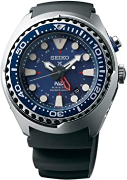Seiko SUN065 Special Edition Padi Kinetic GMT Diver Watch