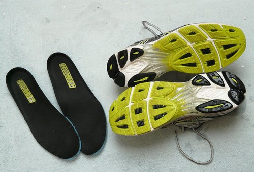 try socks and insoles